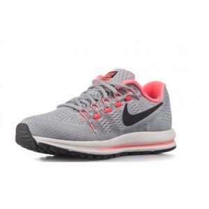 NIKE Air Zoom Vomero Wolf Grey Pink Running Show Sneaker